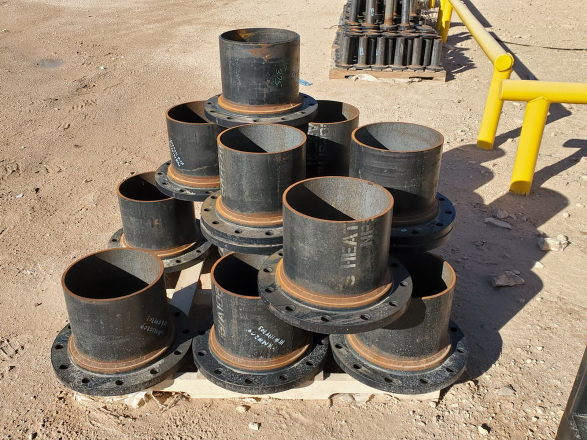 "(24) 12"" Stl Flanged Pipe 150# A/SA105 - Image 5 of 5"