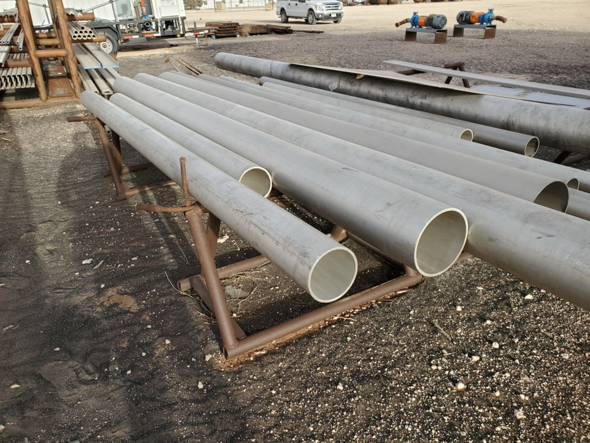 Assorted Matl. To Include But Not Limited To: S/S Flat Bar, Pipe & Sheets (Rack Excluded) - Image 16 of 22