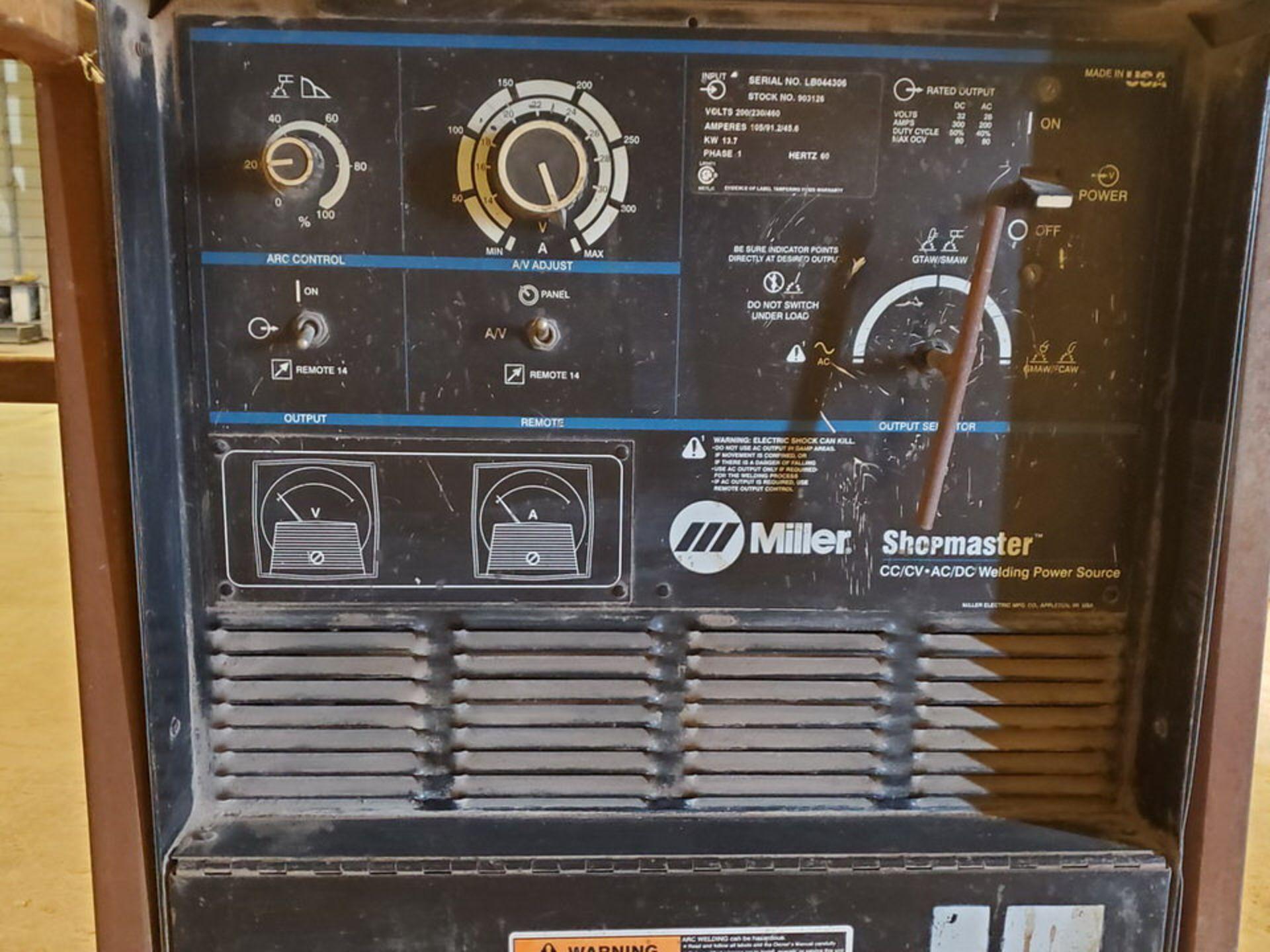 Miller Shopmaster 20 Multiprocessing Welder 200/230/460V, 105/91.2/45.6A, 1PH - Image 5 of 6