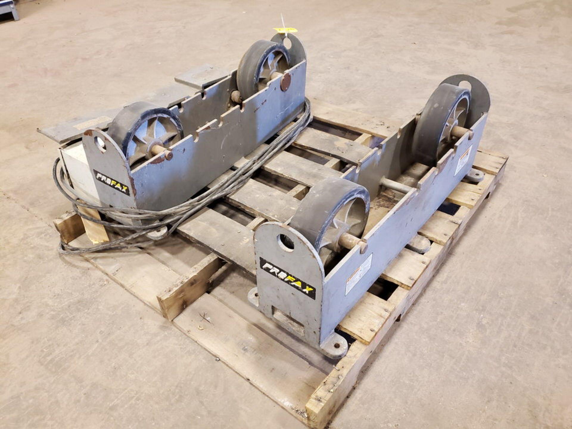 "Profax TR-5000 Turn Roll 5K Cap., 115V, 10A, 50/60HZ, 1PH, RPM: 0-5; 3"" Wheel Dia. - Image 5 of 7"