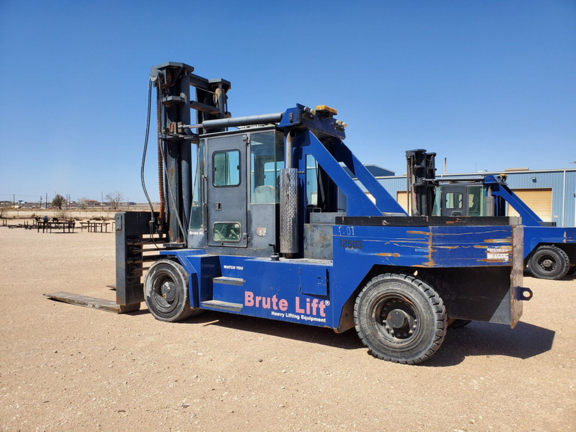2012 Brute Lift BT40-48 Forklift 40H Cap., Engine Hrs: 3,389.3 - Image 3 of 17
