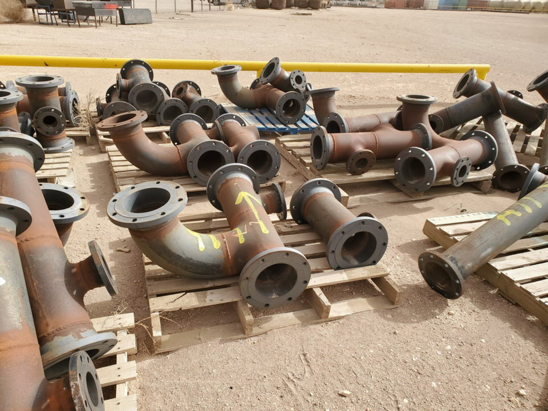 """(29) Flanged Pipe 22"""" - 82""""L - Image 14 of 15"""