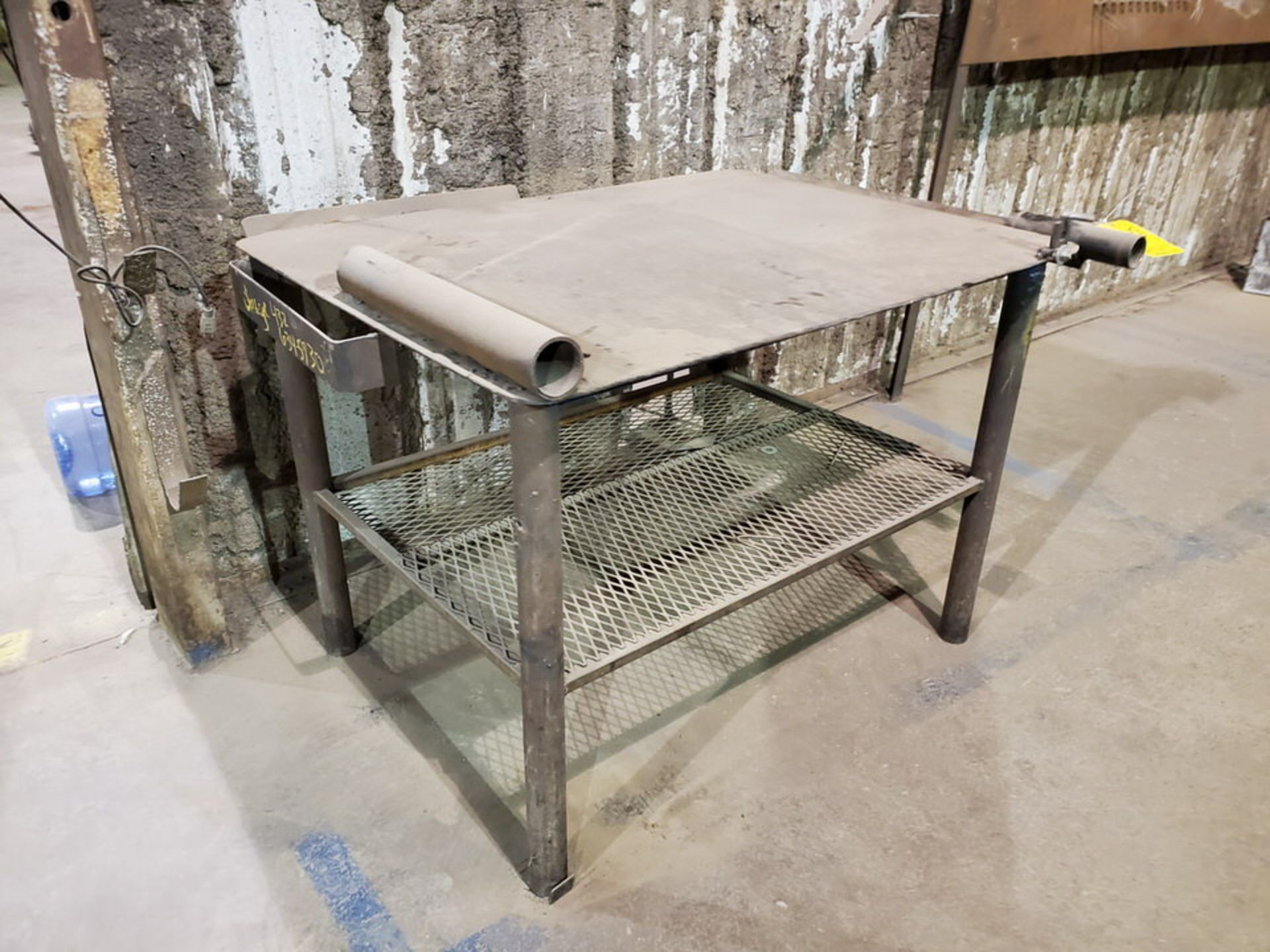"""Stl Welding Table 40"""" x 53"""" x 34""""H - Image 3 of 4"""