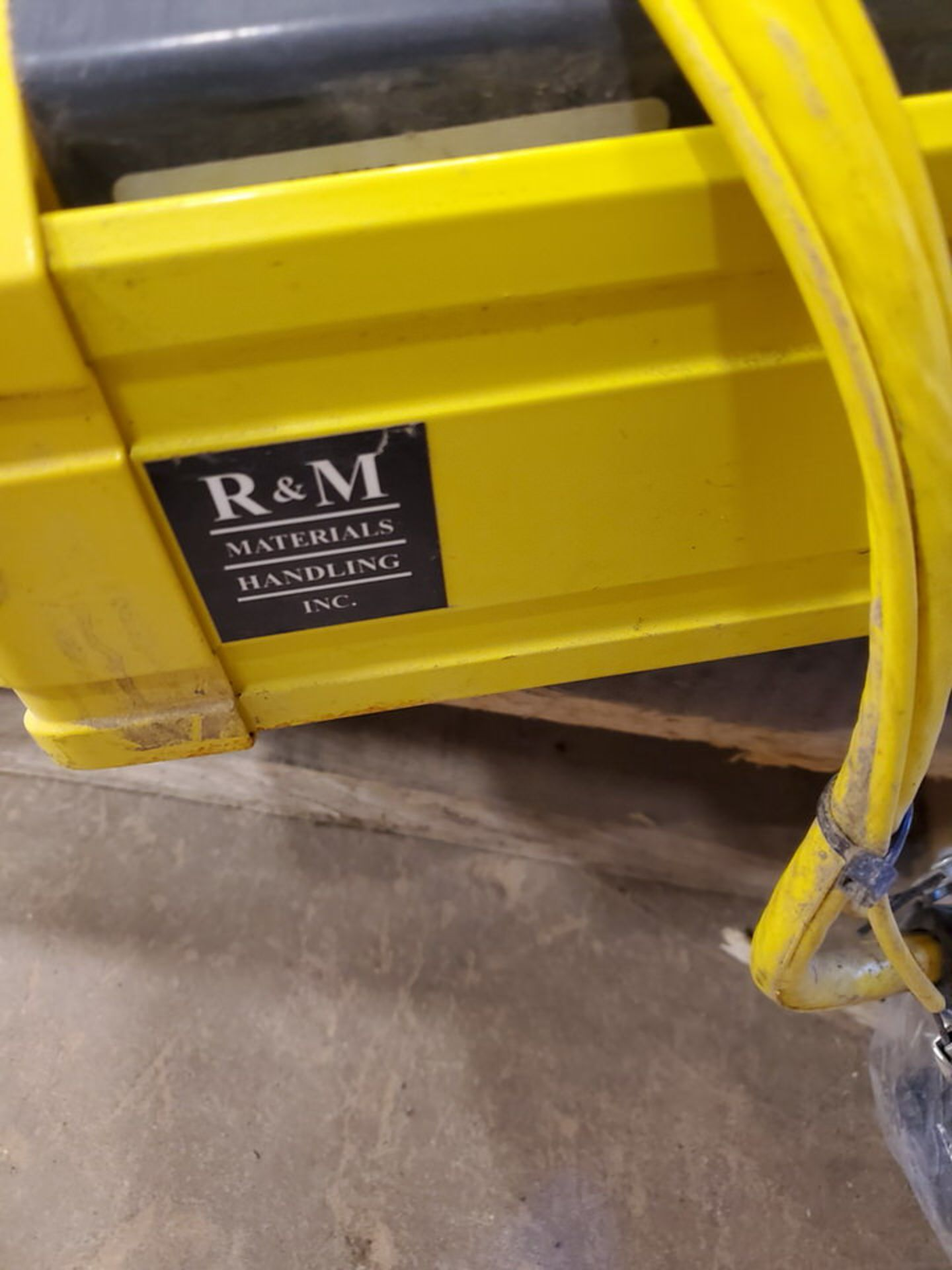 2017 R&M 4 Ton Hoist W/ 2-Button Pendant - Image 6 of 6