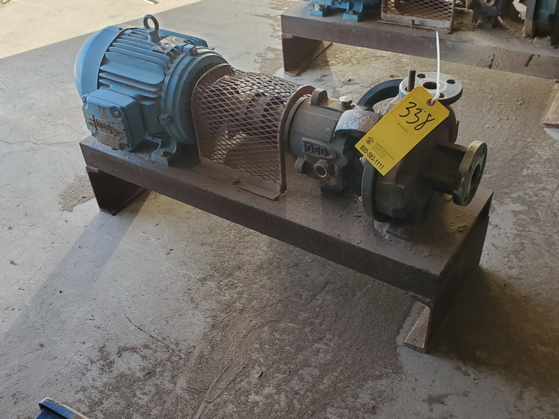 American-Marsh Pumps 1L1x1.5-6RV OSD Centrifugal Pump W/ 7.5HP Weg Motor