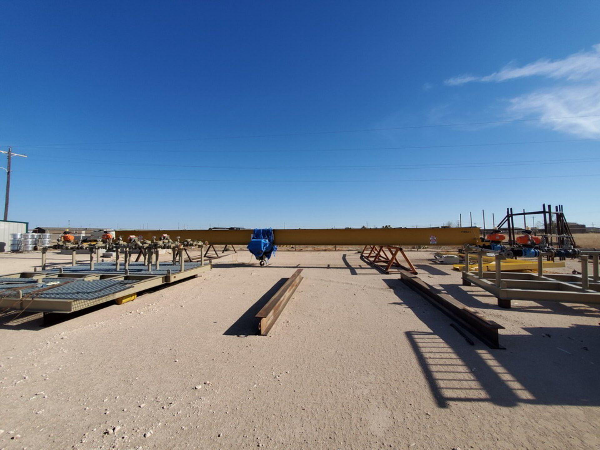 R & M 10 Ton Top Riding Bridge Crane Approx. 66' x 10'L