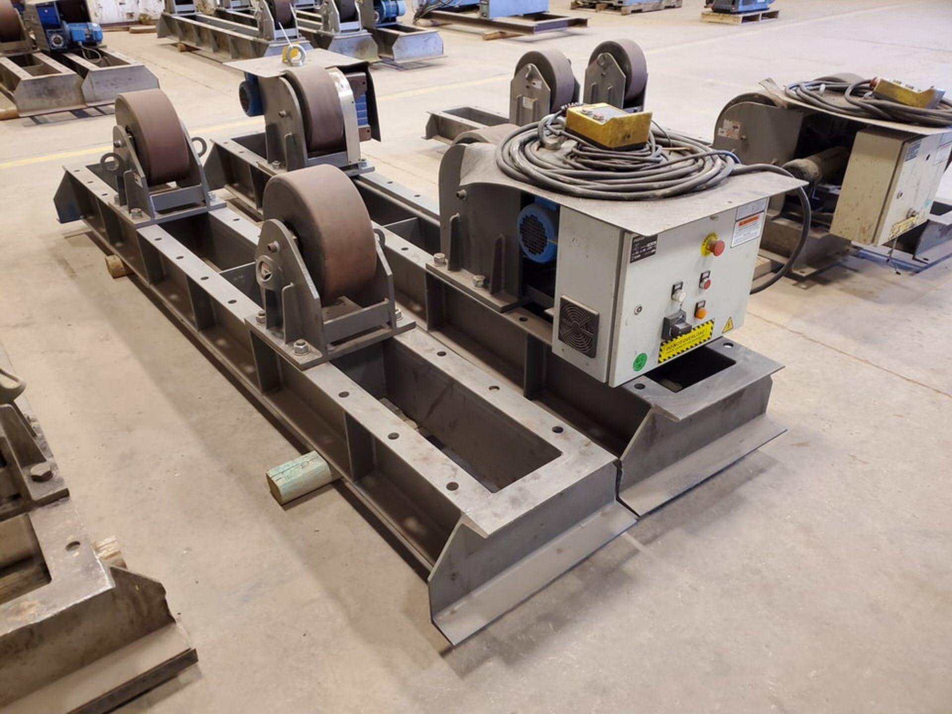 "Profax TR-40000 Turn Roll 40K Cap., 440V, 15A, 50/60HZ, 3PH, RPM: 0-1.7, 6"" Wheel Dia - Image 4 of 8"