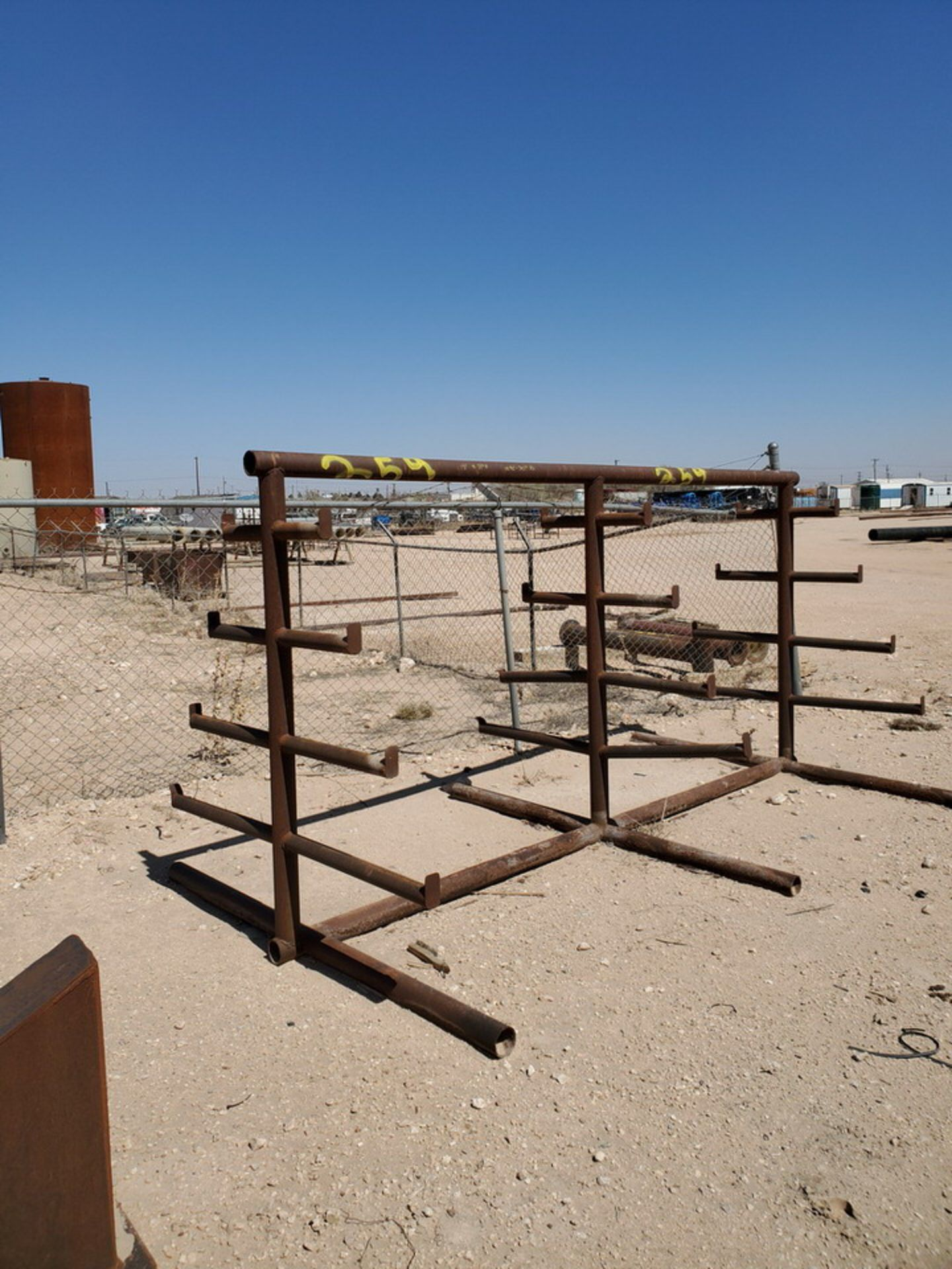 """Double-Sided Cantilever Rack 12' x 71""""; Arms Depth: 10-1/2""""-30"""" - Image 3 of 4"""
