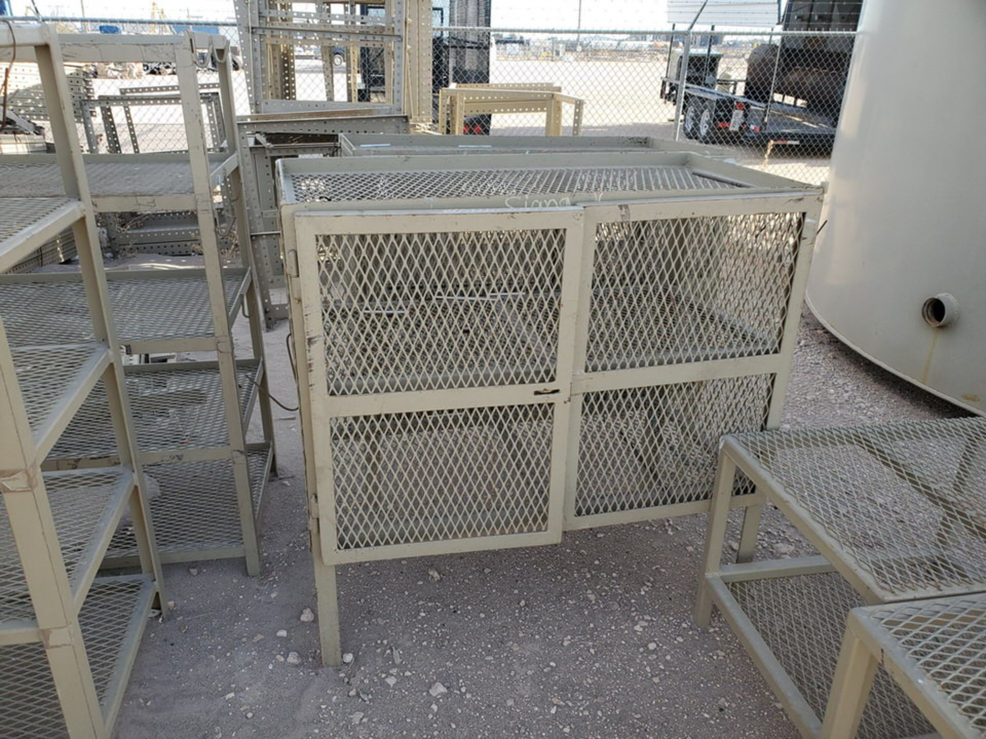 "Assorted Stl Matl. Racks & Ladders Size Range: 30"" x 26"" x 25""H - 29"" x 48"" x 50""H - Image 8 of 18"