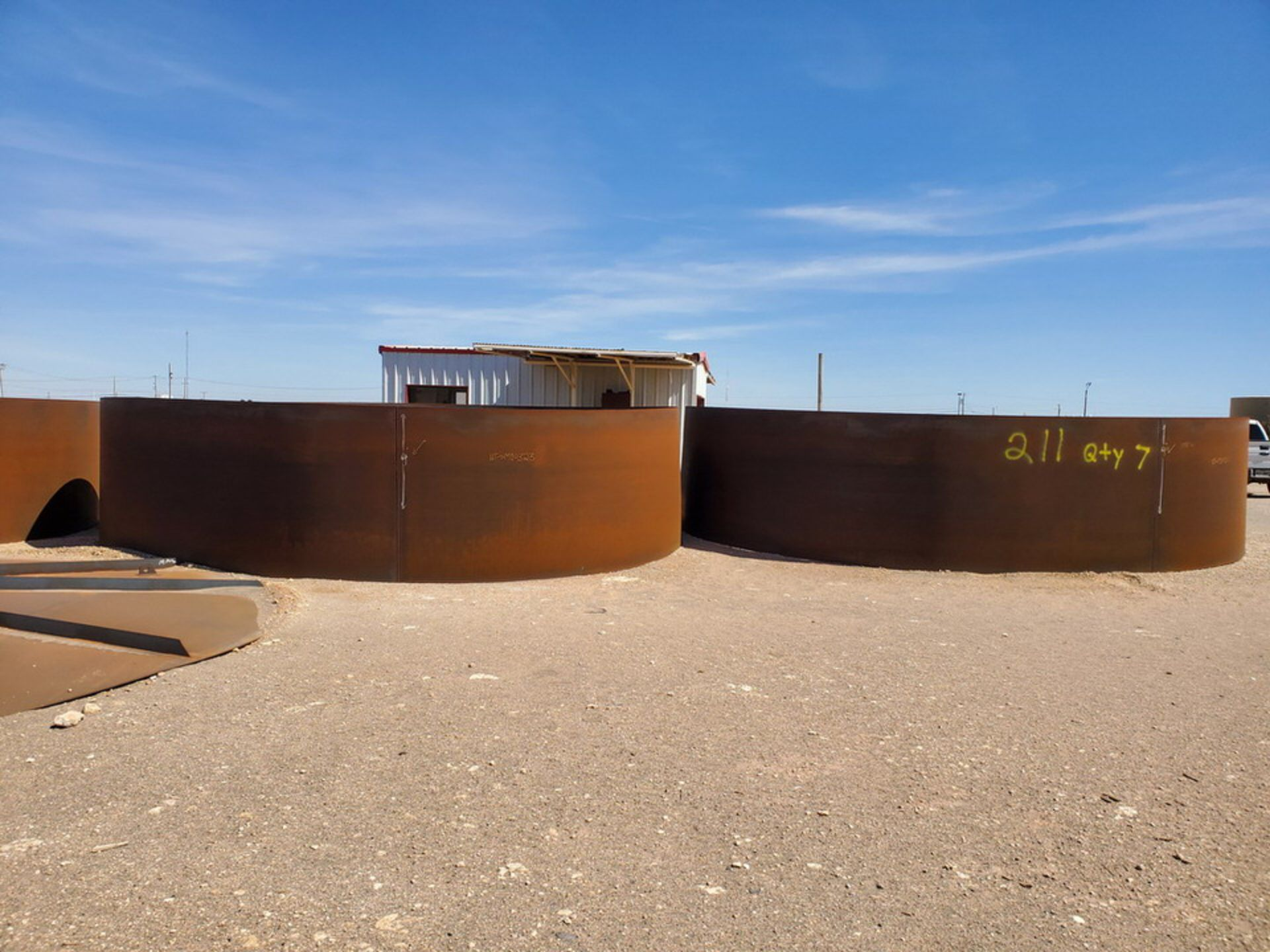 """(7) API Tank Decks 19'8"""" Dia x 64-1/2""""H (Roof Tops Excluded) - Image 3 of 8"""