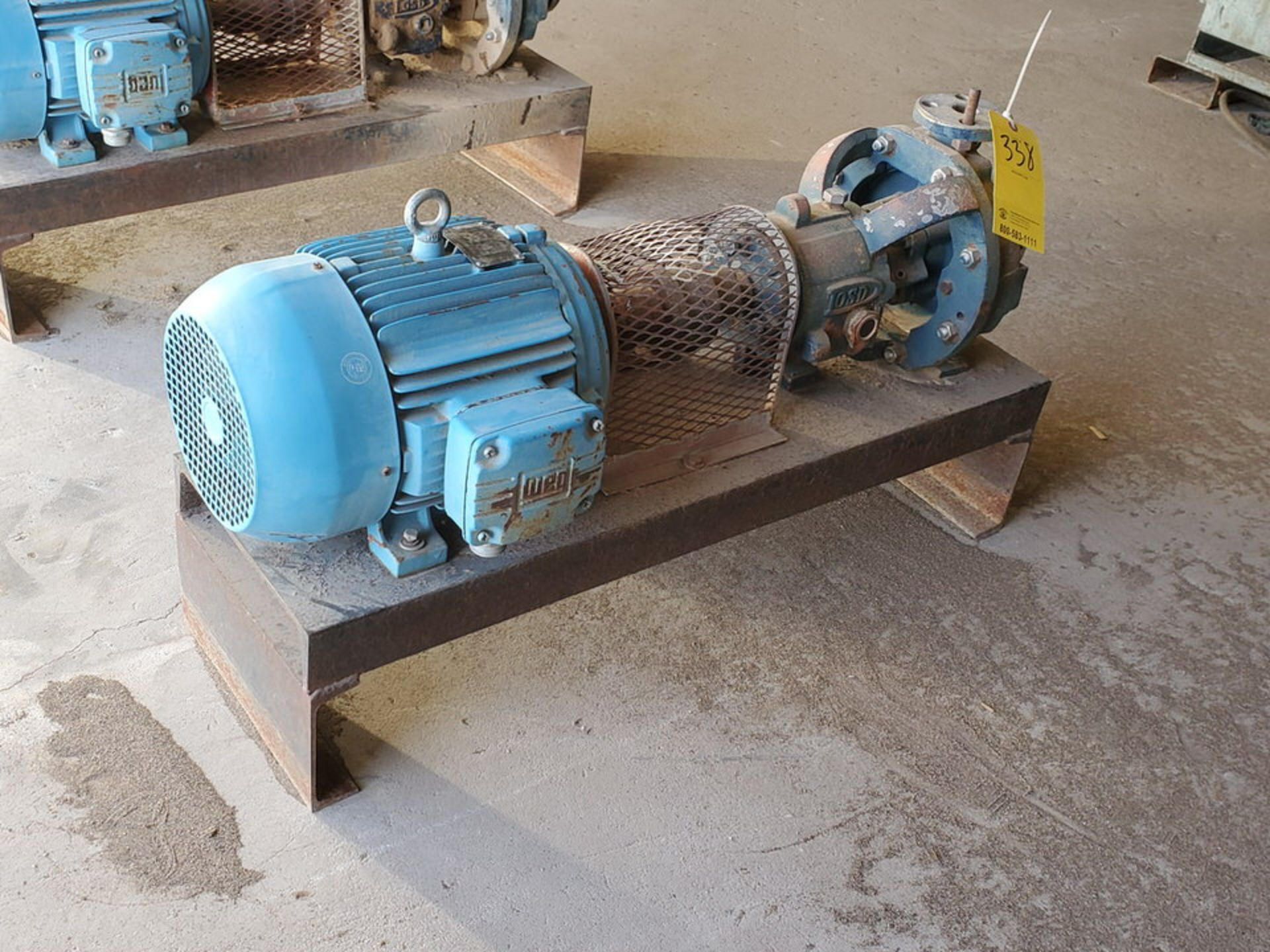 American-Marsh Pumps 1L1x1.5-6RV OSD Centrifugal Pump W/ 7.5HP Weg Motor - Image 3 of 9