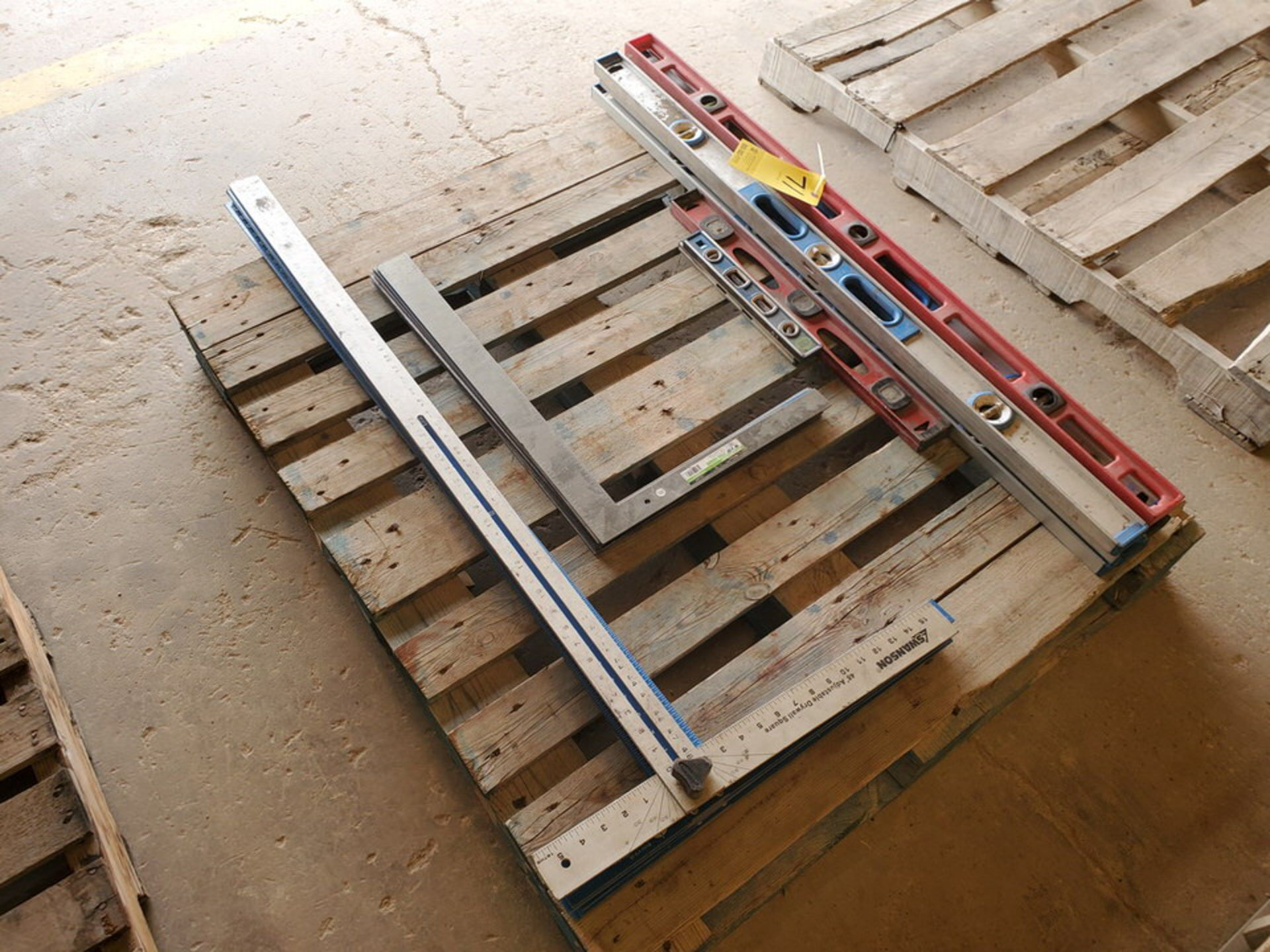 Assorted Material To Include But Not Limited To: Adjustable Drywall Squares & Framing Stl Squares ( - Image 3 of 6
