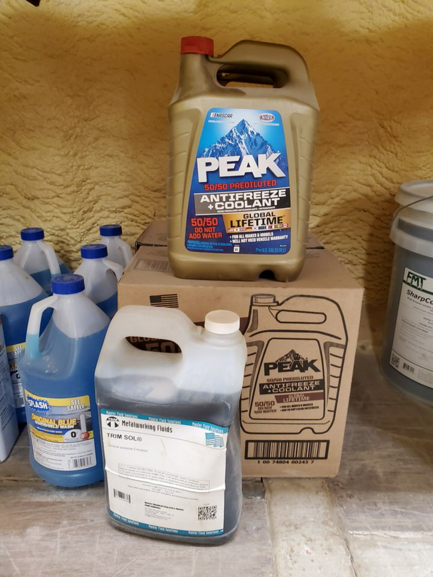 Assorted Lubricants & Fluids To Include But Not Limited To: Shell Corena Synthetic Rotary Air - Image 6 of 17
