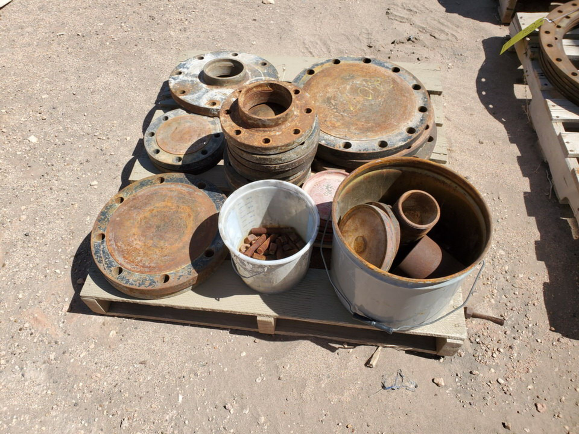 Assorted Fittings To Include But Not Limited To: Assorted Flanges, Caps, Couplings, etc.; Size - Image 3 of 14