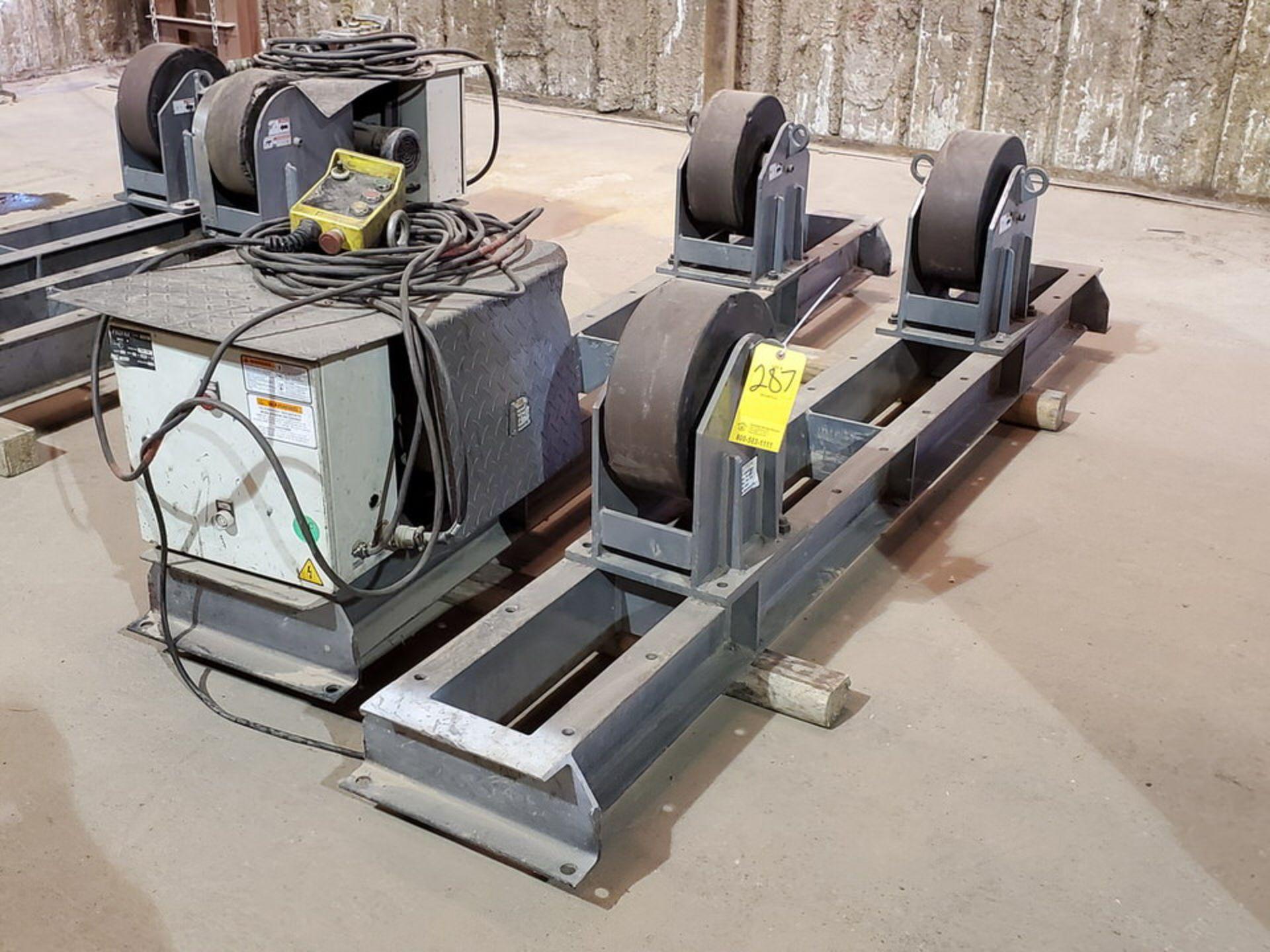 "Profax TR-20000 Turn Roll 10K Cap., 115V, 15A, 50/60HZ, 1PH, RPM: 0-1.9; 5"" Wheel Dia. - Image 3 of 8"