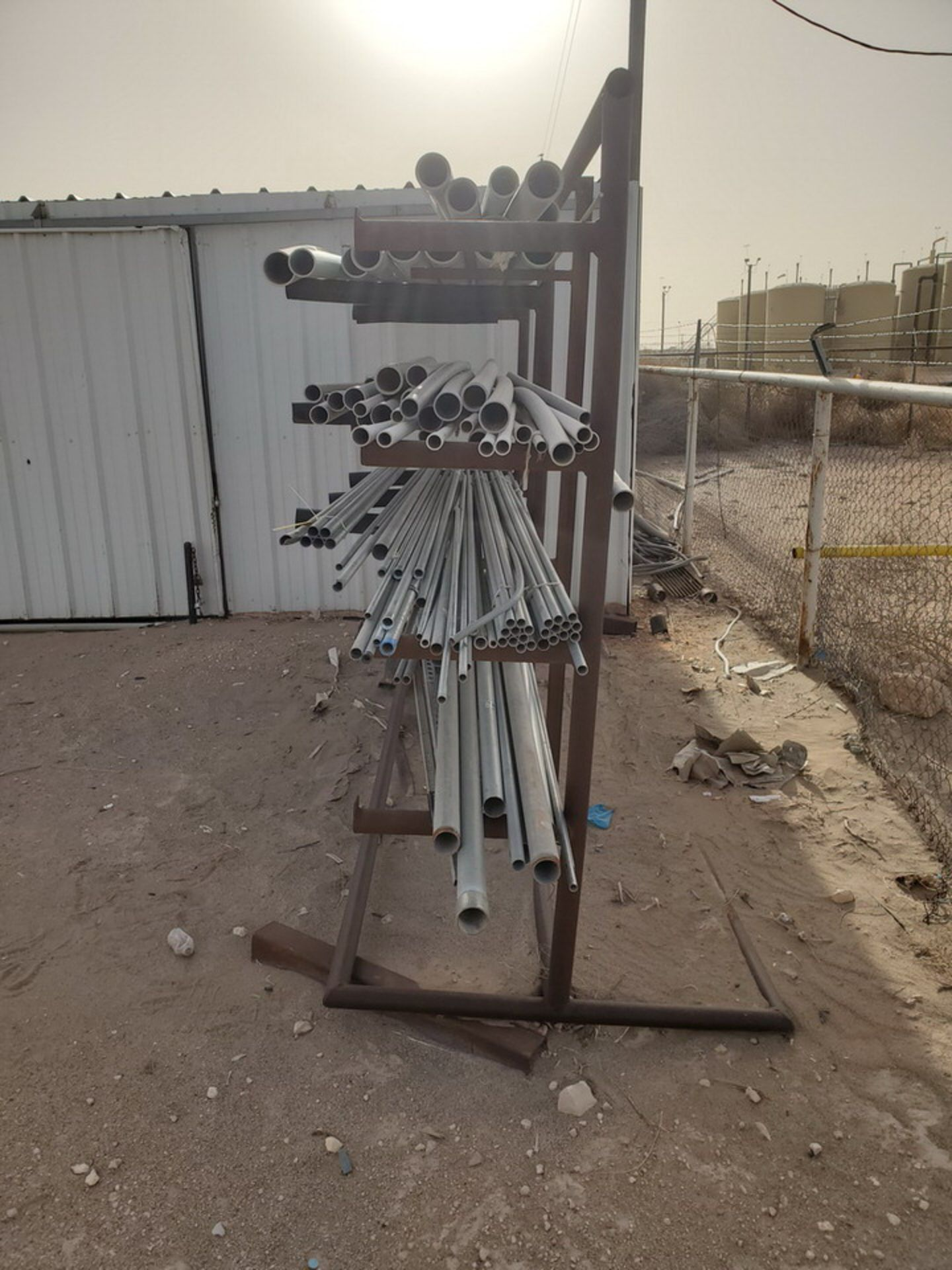 "PVC & Alum. Pipe W/ Conduit Size Range: 1/2"" - 4"" W/ Rack - Image 11 of 18"