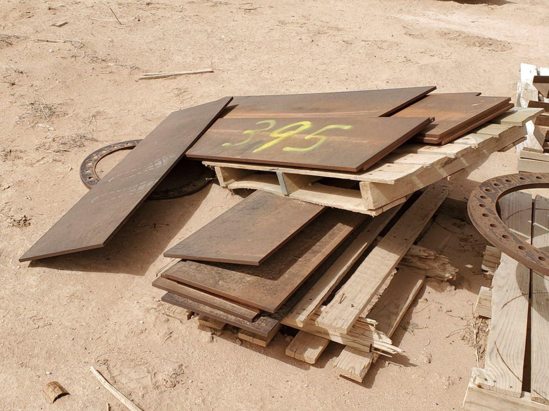 "Stl. Plates 12"" x 7'3"" - 14"" x 56"" - Image 7 of 7"