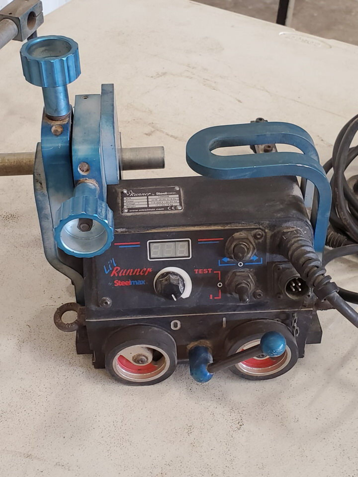 Steelmax Lil Runner Portable Fillet Welding Carriage 115-230V, 50/60HZ, 20W, .09-.18A - Image 3 of 7