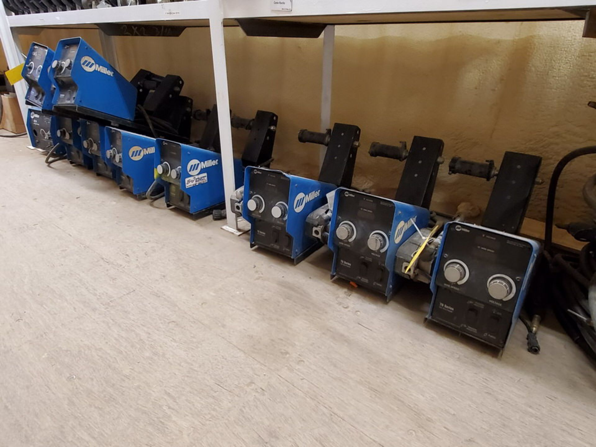 Miller 70 Series (9) 24V Wire Feeders W/ (1) 22A 24V Wire Feeder - Image 2 of 6