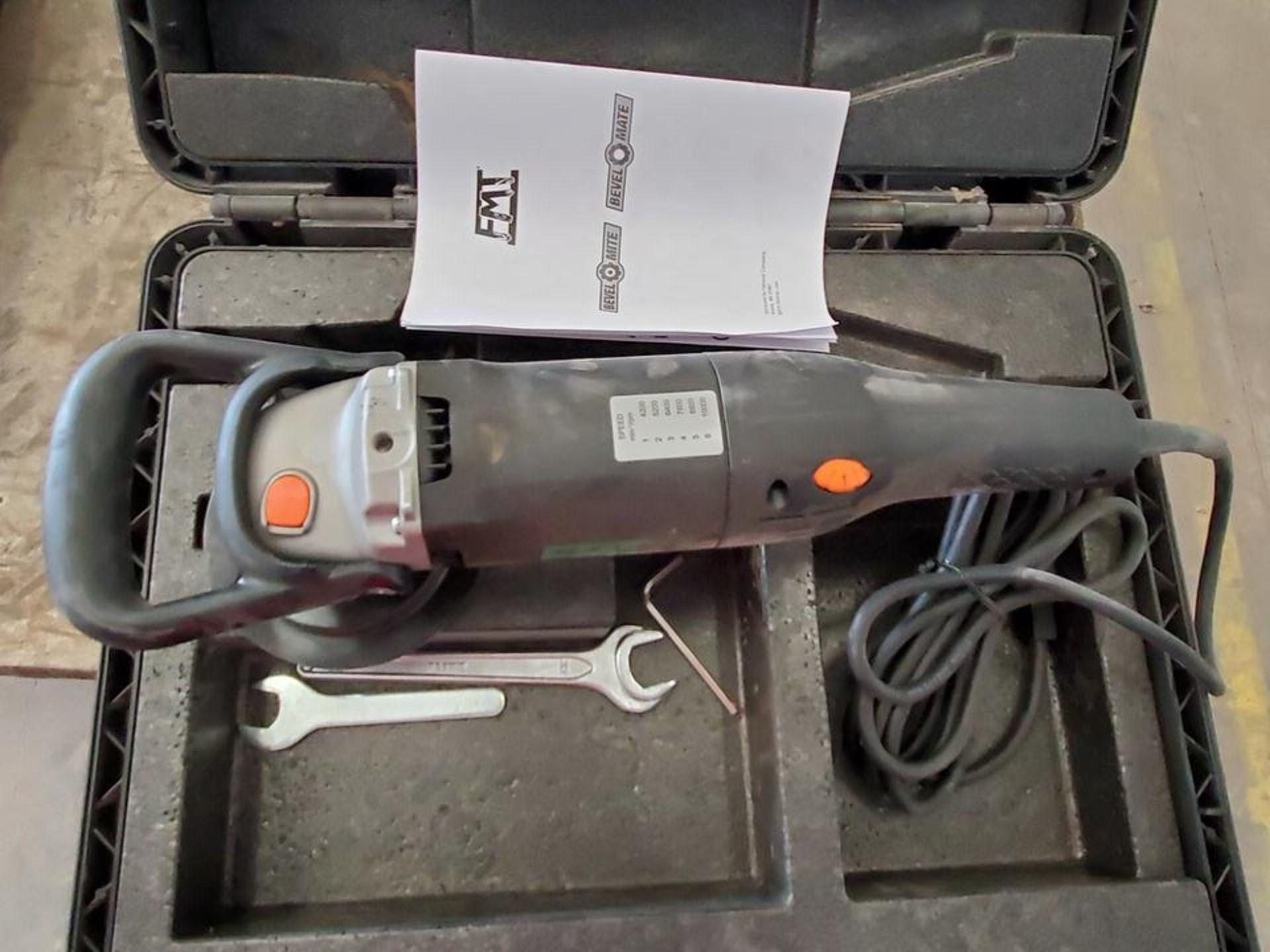 FMT EBA-12S 6-Speed Handheld Bevel Mate 120V, 12A, 60HZ - Image 3 of 5
