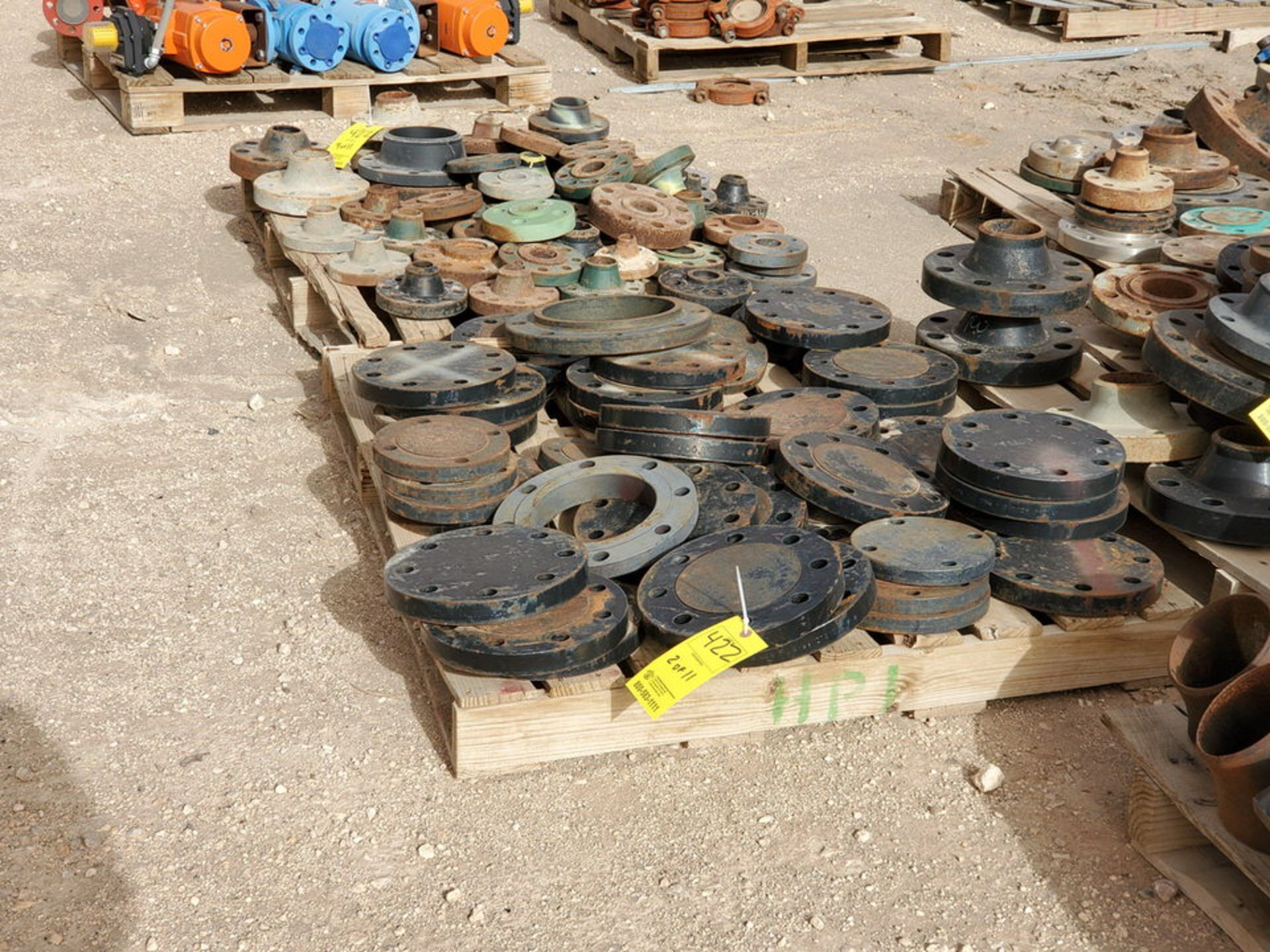 "Assorted Flanges (11) Pallets, Size Range: 1"" - 10"" - Image 6 of 32"