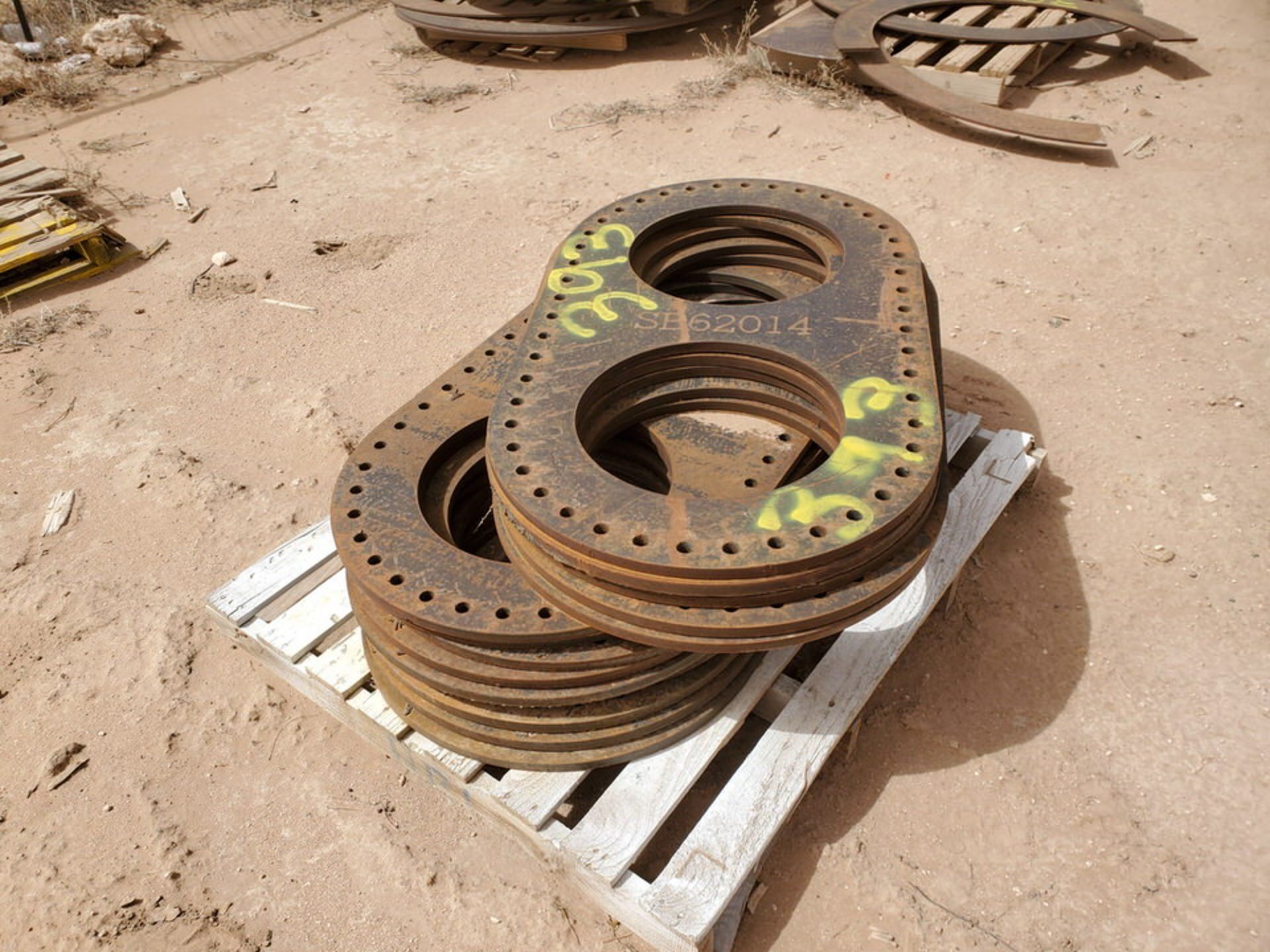 """(14) 16"""" I.D. Double Flanges 48"""" O.D. - Image 3 of 5"""