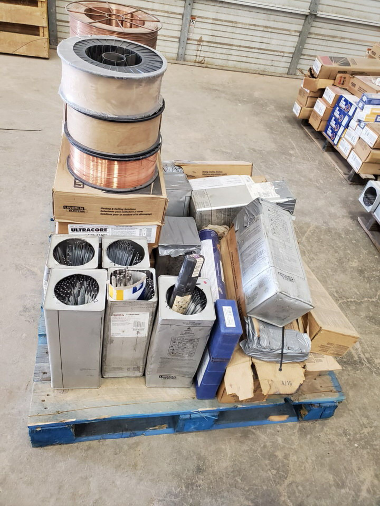 "LE & Radnor, etc. Assorted Welding Rods & Cored Spool Wire Size Range: 3/16"" x 12"" - 3/16"" 14"" - Image 2 of 12"