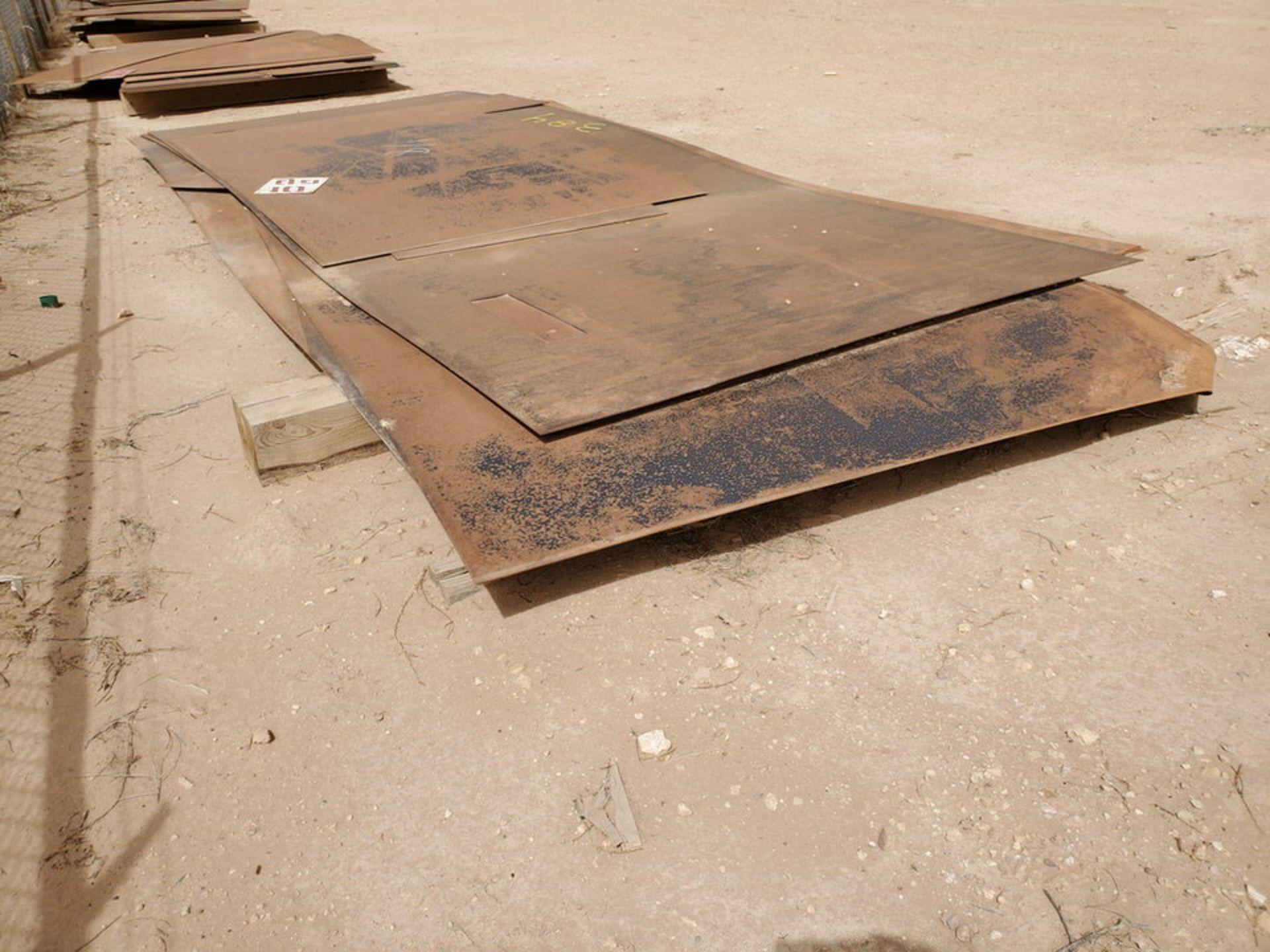 """(8) Sheet Metal L: 10' - 20', W: 4' - 8', 1/8""""Thk - Image 8 of 11"""