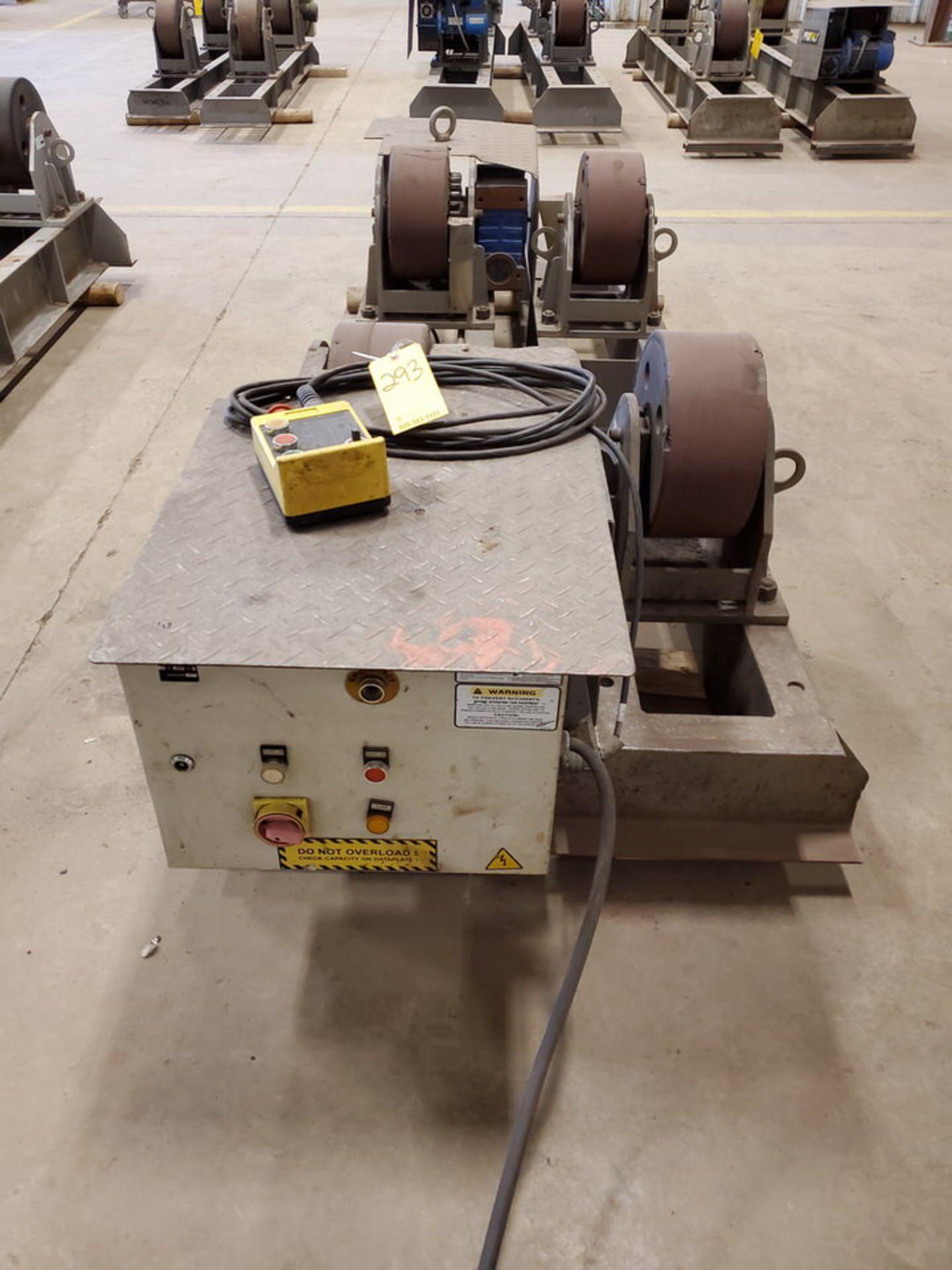 "Profax TR-40000 Turn Roll 40K Cap., 440V, 15A, 50/60HZ, 3PH, RPM: 0-1.7, 6"" Wheel Dia - Image 2 of 8"