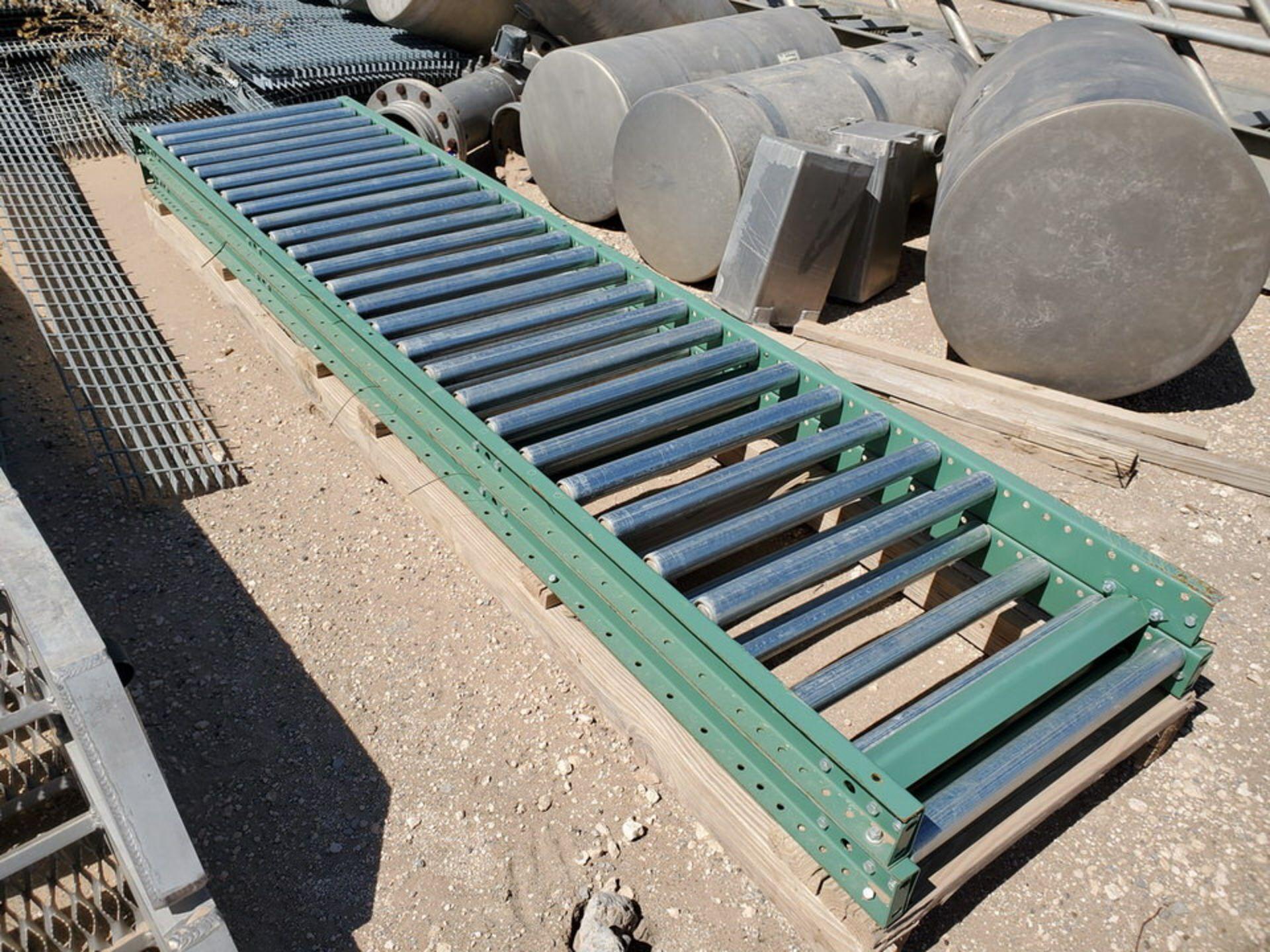 Grating Size Range: 1' - 3'W, 6' - 20'L; W/ Rolling Conveyor - Image 9 of 12