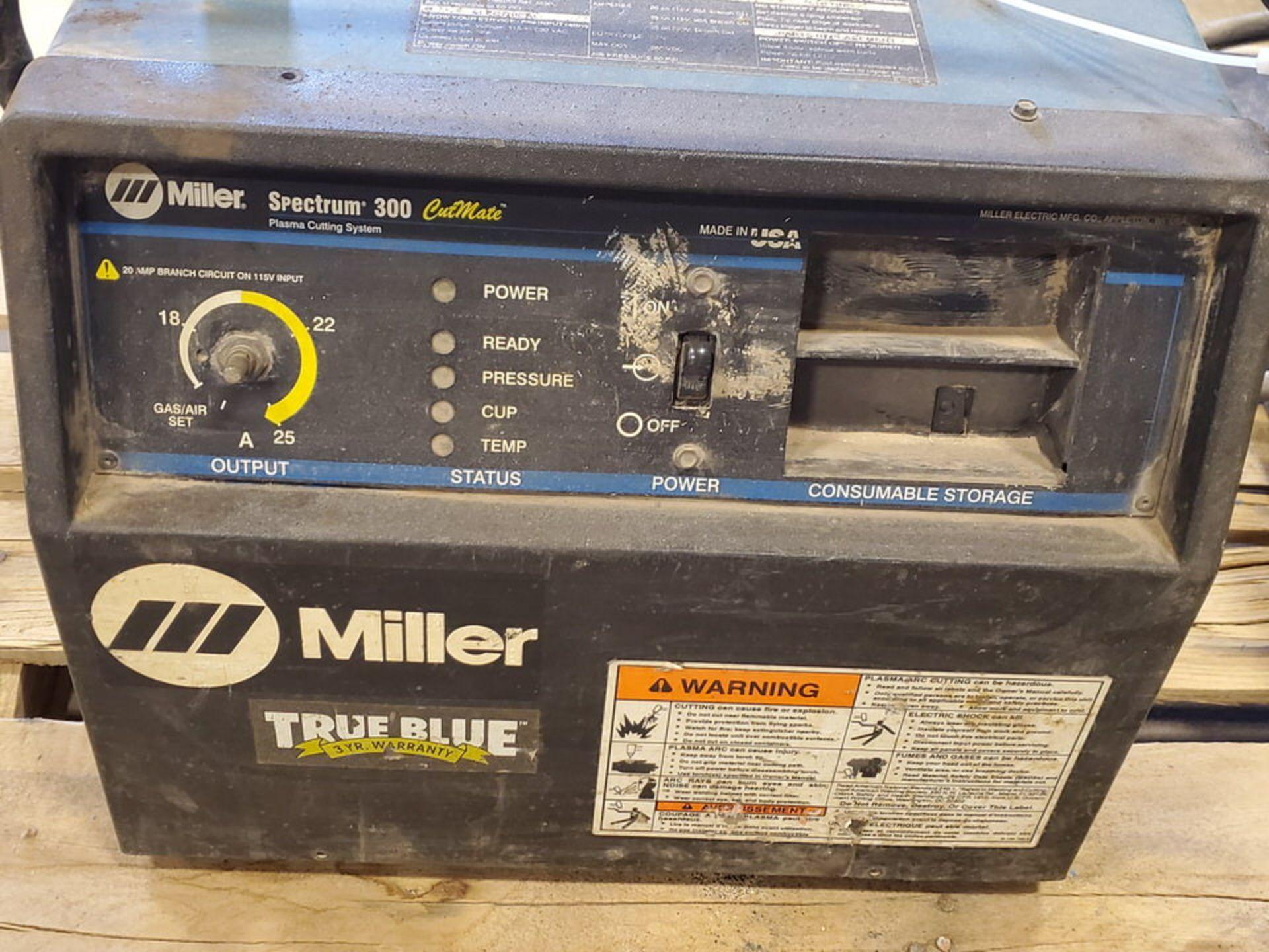 Miller Spectrum 300 Plasma Cutter 115/230V, 26/17A, 1PH, 60HZ; W/ 70 Series 24V Wire Feeder, 10A, - Image 5 of 8