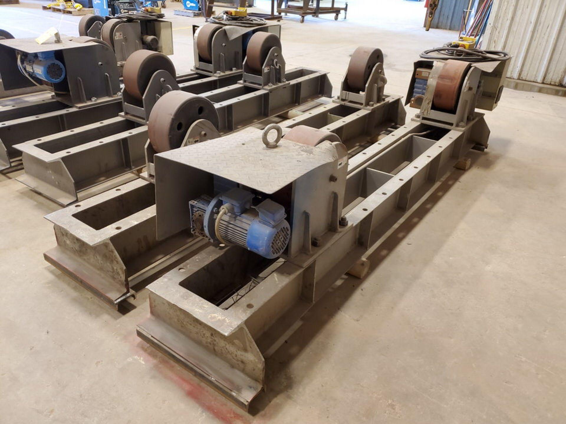 "Profax TR-40000 Turn Roll 20H Cap., 440V, 15A, 50/60HZ, 3PH, RPM: 0-1.7, 6"" Wheel Dia."