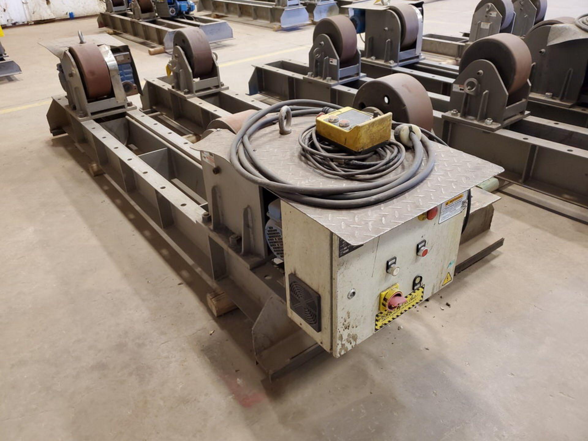 "Profax TR-40000 Turn Roll 20H Cap., 440V, 15A, 50/60HZ, 3PH, RPM: 0-1.7, 6"" Wheel Dia. - Image 6 of 8"