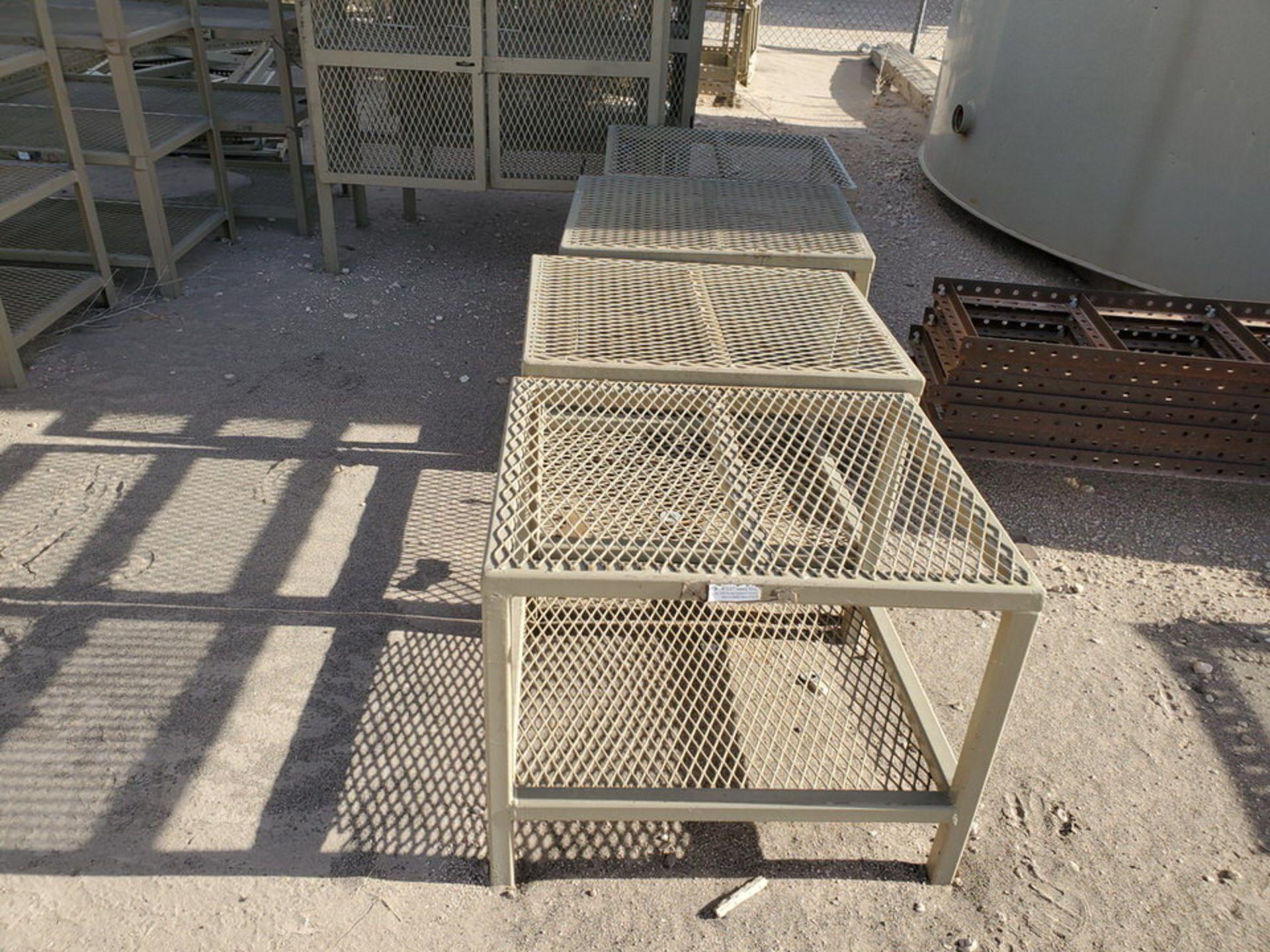 "Assorted Stl Matl. Racks & Ladders Size Range: 30"" x 26"" x 25""H - 29"" x 48"" x 50""H - Image 4 of 18"