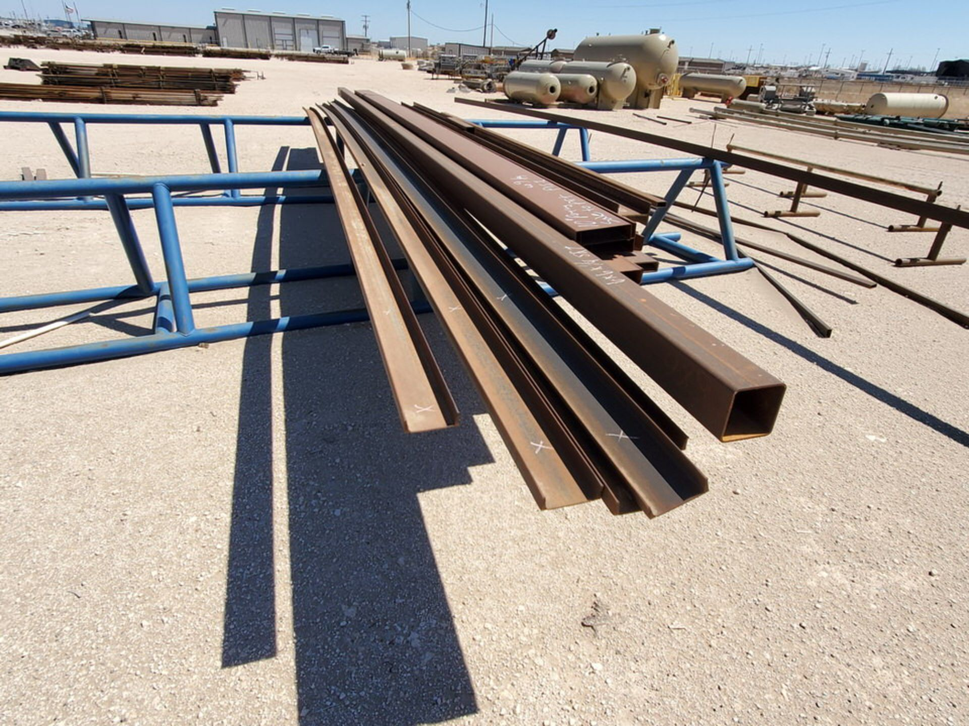 "Assorted Matl. To Include But Not Limited To: Angle, Channel, Sq. Tubing, Rect. Tubing, etc., 6"" - - Image 13 of 16"