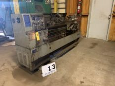 """SHARP ENGINE LATHE, MDL: 1660C, 16"""" SWING X 60"""" CENTERS, 8"""" 6 JAW CHUCK, STEADY REST, NO TOOL POST"""