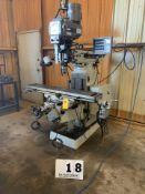 LAGUN VERTICAL MILLING MACHINE, MDL: FTV-2F, POWER DRAW BAR, NEWALL DRO, X,Y,Z RAPID FEEDS