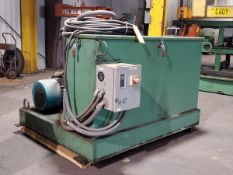 Hyd Unit W/ Compton Motor, 15HP, 230/460V, 1760RPM, Frame: 2541; W/ AB Control Panel, 2,424.4Hrs (