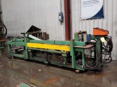 "Magnetool Inc. MR-110-300 Electromagnetic Conveyor Unit 120V,16' x 45"" x 33""H; W/ (1) Gear Roller"