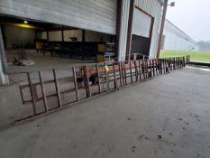 "Roller Conveyor 40' x 30-1/2"" x 41""H (30"" Feed Roll) (Location: 1804 Jack McKay Blvd, Ennis TX"