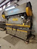 Chicago 10' x 90 Ton Press Brake Size 408D; W/ GE 300-Line Controller; W/ Square D Safety Switch (