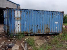 1994 Shipping Container 52,910lbs/B-Wt Max GrossCHN/SH-21/93 Custom Seal #; To Include But Not
