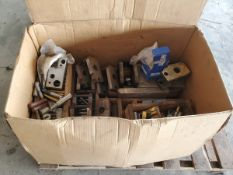 Assorted Material To Include But Not Limited To: Punches, Buttons, Seals, Gaskets, Gears, Chain