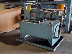 Hyd Unit 480V, 3PH; W/ Emerson Motor, 10HP, 1745RPM, 208-230/460V (Location: 1804 Jack McKay Blvd,