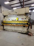 "Pacific J225-12 10' x 90 Ton Press Brake Rating: 5/16"" x 10', 208V, 3PH, 60HZ; W/ NMTBA Ele Panel;"
