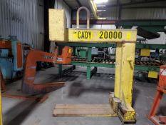1998 CM Cady A2048 10 Ton Lifting C-Hook (Location: 1804 Jack McKay Blvd, Ennis TX 75120)