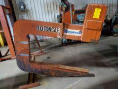 2016 Bushman C24 10 Ton Lifting C-Hook (Location: 1804 Jack McKay Blvd, Ennis TX 75120)