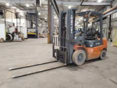"""Heli OPYD25-TY5 5K 4,600 lbs Forklift 3-Stage Mast, 6' Forks, 185"""" Lift Ht., Solid Pneumatic Tires,"""