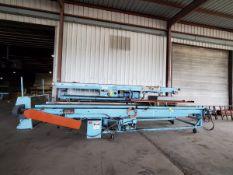 "Bradbury (3) Motorized Rolling Conveyors 480V, 3PH, 120Psi; 21'6"" x 3' x 3'H (Belt Size-36""); W/"