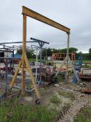 "Gantry Crane Approx. 15' x 7' x 13'6"" (Loc: 1313 S Interstate 35 East Service Rd Waxahachie, TX"